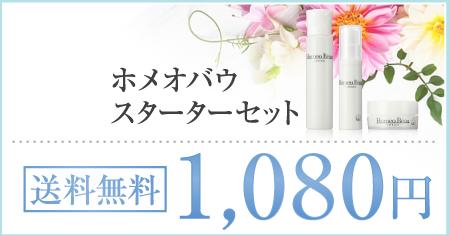 ホメオバウ スタータキット全国送料無料1,080円